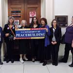 Advocating at Rep. Barbara Lee's Office <span>&copy; Nancy Merritt </span>