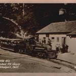 Mt. Tamalpais Scenic Railway at the Tavern at the East Peak <span>&copy; Anne T. Kent Room </span>