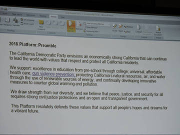 CDP 2018 Platform Preamble <span>© Nancy Merritt </span>