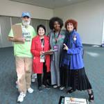 Dolores Huerta, Cynthia, Nancy <span>&copy; Nancy Merritt </span>