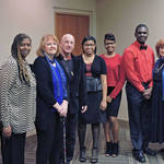 Brian, Sue, Cynthia, Others @ MLK Breakfast <span>&copy; Nancy Merritt </span>