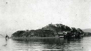 Alcatraz Island <span>&copy; Vic Reyna Coll. Kent Rm </span>