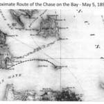 May 5, 1890 route of escaped prisoners from Alcatraz <span>&copy; Robert L. Harrison </span>