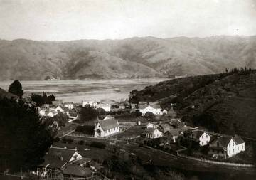 19th Century Bolinas. From 1860-1918 gold mining occurred on the west side of Bolinas Ridge near Dogtown. <span>&copy; Anne T. Kent Rm. Jenkins </span>