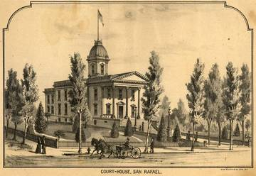 Marin County Courthouse, San Rafael, 1889 <span>&copy; Anne T. Kent Room </span>