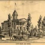 Marin County Courthouse, San Rafael, 1889