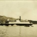 """Ferryboat """"Tiburon"""" <span>&copy; Anne T. Kent Room </span>"""