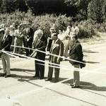 September 24, 1938 ribbon cutting of SFD Blvd. after realignment