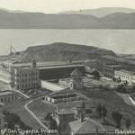 Birdseye View of San Quentin, c.1910 <span>&copy; Anne T. Kent Room </span>