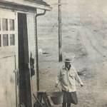 Rose Verrall at her place in Tiburon, Jan. 26, 1957 <span>© Marin I.J. </span>