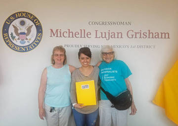 New Mexico Pie Meeting at Rep. Lujan-Grisham's Office <span>©  </span>