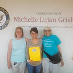 New Mexico Pie Meeting at Rep. Lujan-Grisham's Office