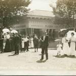 Citizens enjoy San Rafael's Grand Carnival & Parade, Sept. 9, 1908 <span>© Anne T. Kent Room Staley </span>