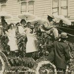 Part of the Grand Procession at the San Rafael Carnival, Sept. 9, 1908 <span>© Anne T. Kent Room Staley </span>
