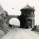 Gateway to Lyford's Hygeia on today's Paradise Drive -- Near the south end of the road from San Rafael and just around the point from downtown Tiburon. <span>© Anne T. Kent Room </span>