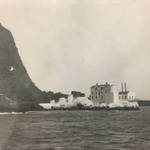 Lime Point as seen from yacht Ivaneo <span>© Anne T. Kent Rm Stanley </span>
