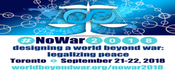 Departments & Infrastructures for Peace Discussed at World Beyond War Conference  <span>&copy; WBW Conference Logo </span>