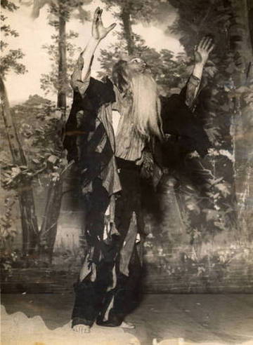 Joseph McCauley as Rip Van Winkle in the Mountain Play Association's 1915 production <span>&copy; Anne T. Kent Room </span>