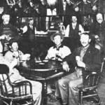 Jim Sam at the gambling table. <span>&copy; Jack Mason Museum </span>