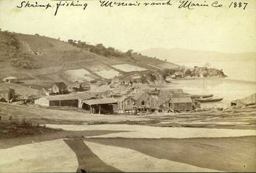 China Camp, Marin County, 1887 <span>&copy; Anne T. Kent Room </span>
