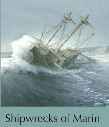 Detail front cover of Shipwrecks of Marin by Brian K. Crawford <span>&copy; Brian K. Crawford </span>