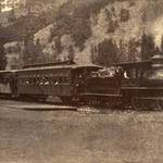 North Pacific Coast Railroad in Cazadero