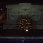 MLK Jr. and Mrs. Coretta Scott King Burial Site on the Night of the King Holiday