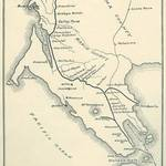 Route of the North Pacific Coast Railroad <span>&copy; Anne T. Kent Room </span>