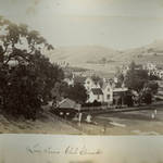 San Rafael Lawn Tennis Clubs grounds in the West End, mid-1880s <span>&copy; Anne T. Kent Room </span>