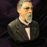Bust of Peter Donahue by Howard Lazar. <span>&copy; Tiburon Depot Museum </span>