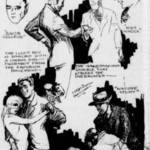 Illustration to accompany Gregor Duncan's March 8, 1929 article in the Sausalito News, showing drinking & dancing at the Tam O'Shanter Inn. <span>&copy; Sausalito News </span>