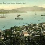 View of Richardson Bay from Sausalito
