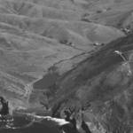 Aerial view of Tennessee Valley & Cove, circa 1960. The proposed canal would have gone through Tennessee Valley to the Pacific Ocean. <span>© EAM Collection </span>