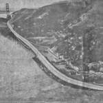The proposed Golden Gate Freeway -Shelter Cove Viaduct <span>&copy; Marin Scope, Aug 1982 </span>