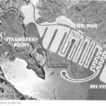 Proposed fill on the Bay that never happened. From an article by Barbara Gnoss on Reed's Port. <span>&copy;  </span>