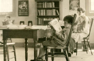Trivia expert at the Novato Branch of the Marin County Free Library, 1928