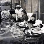 (Q. 3) Arequipa Sanatorium nurse and patients, 1940 <span>&copy; Anne T. Kent Room </span>