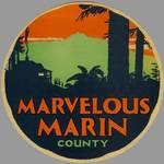 (Q. 4) Marvelous Marin logo, circa 1930 <span>&copy; Anne T. Kent Room </span>
