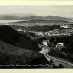 Golden Gate & San Francisco as seen from Twin Peaks, 1928