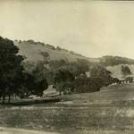 Marin Golf & Country Club, San Rafael, 1911. Clubhouse in the background. <span>&copy; Anne T. Kent Rm/Howitt </span>