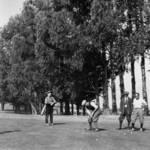 Golfers at the Belvedere Golf & Country Club, 1924. Courtesy Belvedere-Tiburon Landmarks Society. <span>&copy; Bel-Tib Landmarks </span>