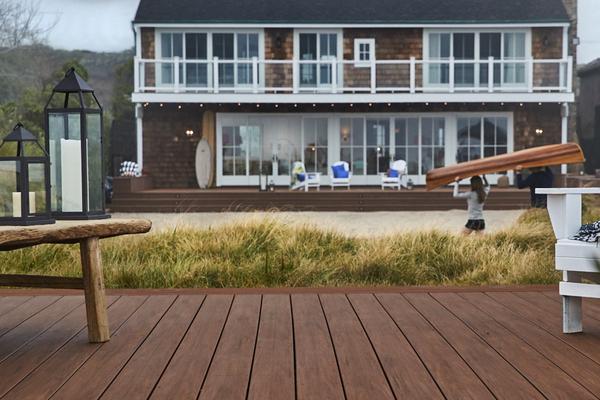 Azek beach deck