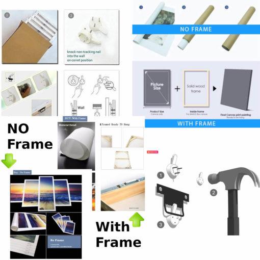 Frame or No frame