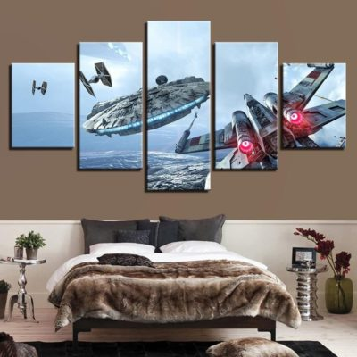 Awesome Star Wars Posters for Home Decoration 5
