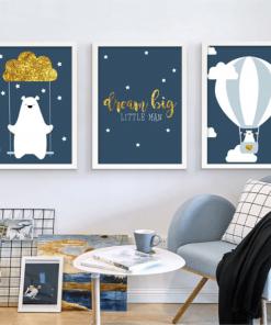 Bear poster Print Wall Art