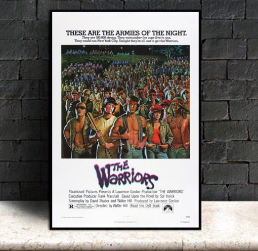 The Warriors Vintage Classic Movie Poster