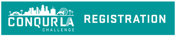 conqur la challenge registration button