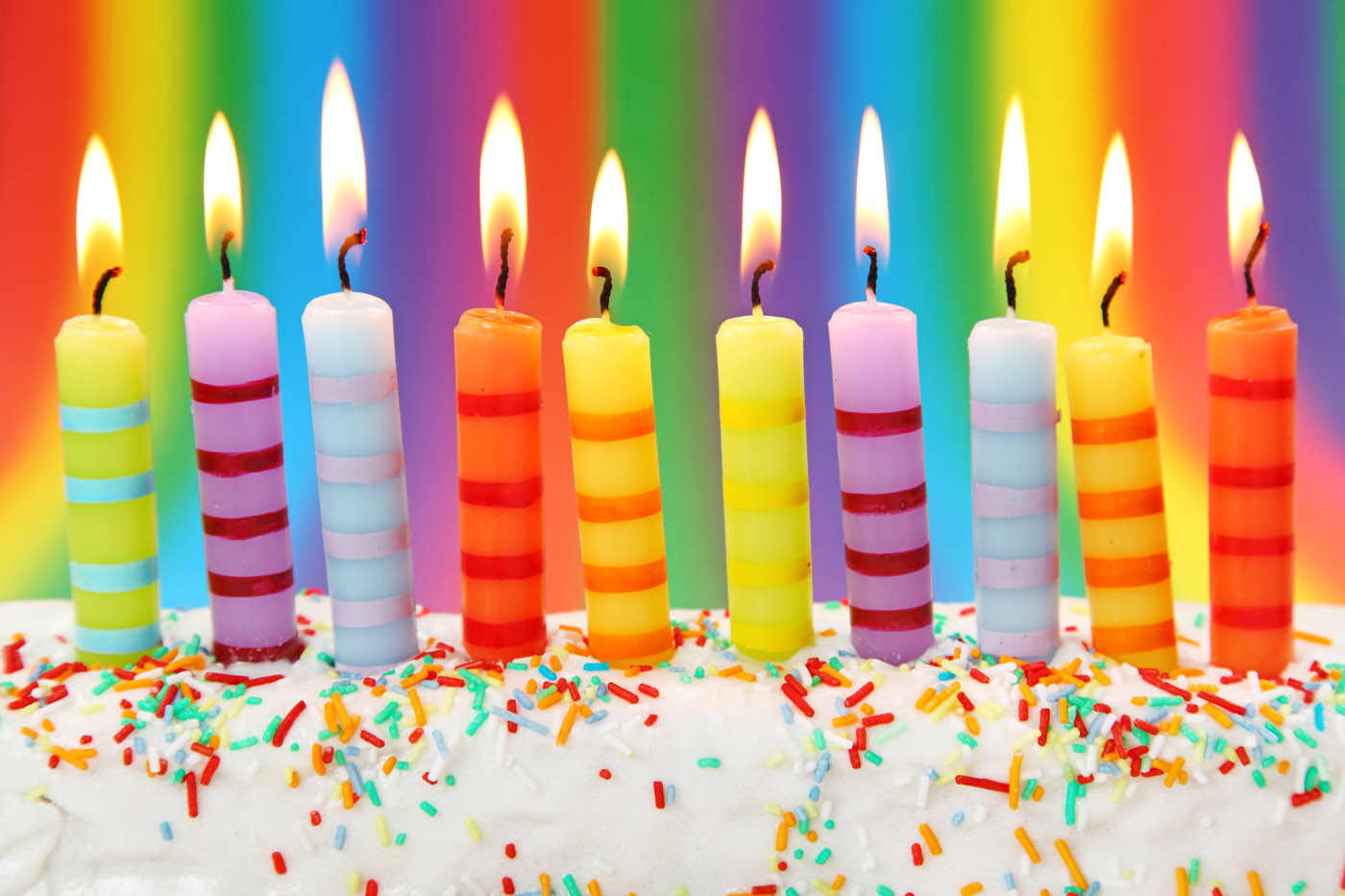 Birthday candles wallpaper hd