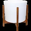 Le 20 - Velvet blanc mid-century Jatoba B