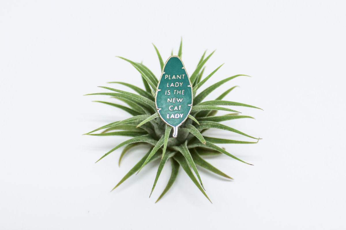 Plant Lady is the New Cat Lady Pin - Plant Lady is the New Cat Lady Pin